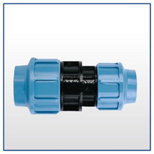 HDPE Pipe Fitting Socket Connector Compress Reducing Coupler
