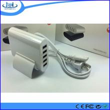 Travel universal multi port usb charger 4,5,6 port usb 50w