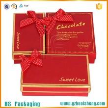 ribbon decorative wedding chocolate gift box hot sale dubai