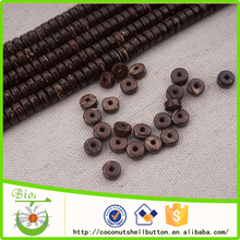 jewellery making DIY natural cheap coconut 6mm wood beads for sale