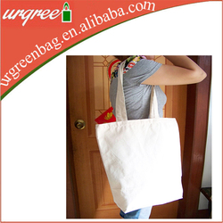 canvas cotton foldable shopping bag