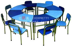 school kids activity writing table wood child study desk and chair set