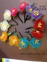 girls beautiful handmade flower hairpin