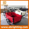 three wheel attractive cargo bike tricycle with hydraulic for wholesales