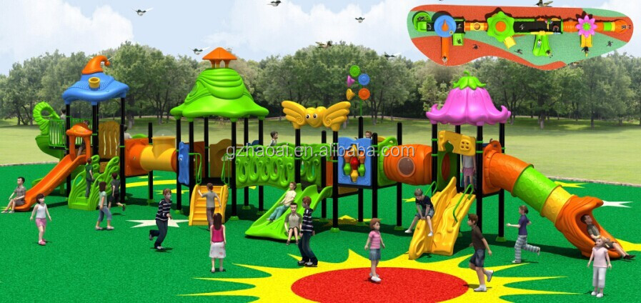 A 15083 Preschool Colorful Used Outdoor Playground
