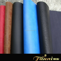 2015 faux leather fabric for sofa upholstery/rexine leather fabric for sofa and car seat
