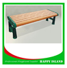 2015 popular park bench design Chinese manufacturer Wood Benches Cast Iron Park Bnech Cast Iron Bench Legs No Back