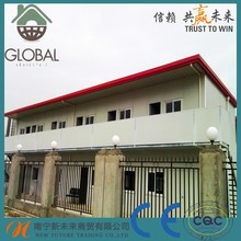 20ft container homes, Grass wool sandwich panel prefab homes