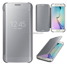 best wholesale mirror smart case cover for samsung galaxy e5,slim flip cover for samsung galaxy e5