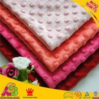 All baby love 2015 new design China factory super soft high quality Oeko-tex 100 cuddly minky fabric