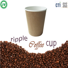 hot drink paper cup ripple coffee cups with lid disposable paper cup