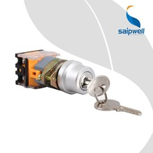 Saipwell Industrial Push Button New CE Waterproof Momentary Switch IP65 Momentary Key Switch