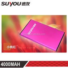 suyou SY-023 super thin harga power bank 4000mah for samsung