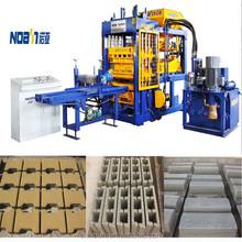 QT6-15 Concrete Blocks Making Machine Produce Hollow Blocks for Building Construction