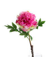 ivory mini rose real touch artificial flower for weddings