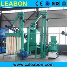 1-2t/h impianto di produzione pellettizzatrice usato/completi linea pellet legno/impianto di pellet di legno per la vendita