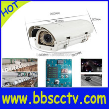 1.3MP License Plate Recognition LPR ip camera WDR HLC+shutter speed+snapshot+LED brightness adjustable+ONVIF