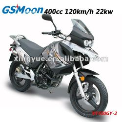 400cc gas motorcycle meet Euro III / DOT/ CDOT / EPA