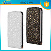 Decorative pattern PU flip leather case for iphone