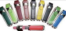 Custom leather usb flash drive/white leather usb flash driver