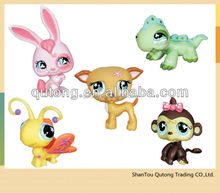 lovely pvc plastic animal doll/ hundreds of animal collection toys