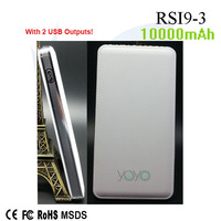 Plastic 5v 2a external battery pack made in China RSI9-3