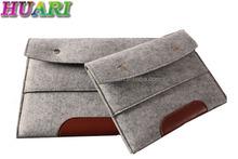 2015 Eco-freidly Felt Tablet Sleeve/tablet PC Bag For Ipad Air