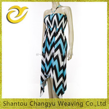 "2015 fasion ladies maxi dress ""NEW ITY"" placement printing stripes"