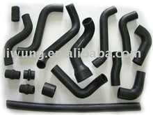 Pipe flexible rubber joint