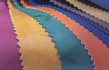 Printed PU Leather fabric shoe materials Burnish textiles leather for shoe
