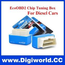 Hot sale Blue EcoOBD2 Economy Chip Tuning Box Plug and Drive Eco OBD2 Diesel