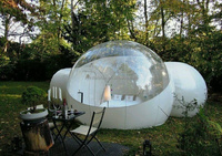 2015 New design inflatable bubble clear room for camping