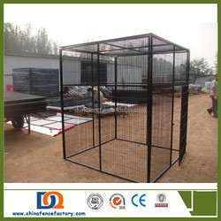 cheap US and Canada use Extra large dog kennels runs with top covers for sale