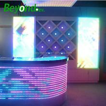 night club/disco decoration led wall panel lights dmx controlled