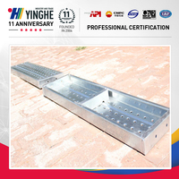 adjustable durable steel plank work platform