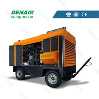 latest technology portable rotary screw air compressor machine