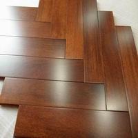 American red oak wood parquet flooring