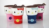 ceramic/ porcelain coffee travel mug with lid /button