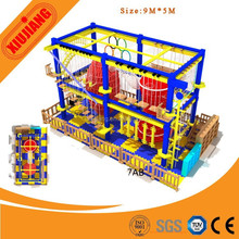 Hot Sale Kids Indoor Climbing Toys, Ropes Course For Shopping Center