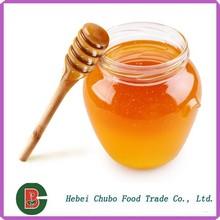 Miel de abeja en la miel