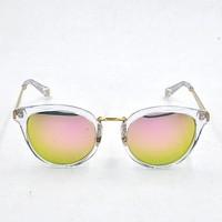 Internal Metal Temple Women Sunglasses, Fancy Transparent Glasses Frame