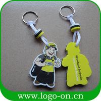 New Design Sport competition promotional eva floating keyring
