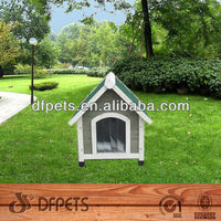 Colorful Wooden Dog House For Small Animal DFD014