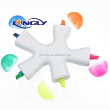 Fun Highlighter,plastic pen with highlighter