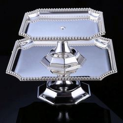 Latest Arrival attractive style aluminum cake stand/ fruit stand wholesale