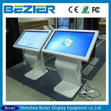 kiosk monitor with remote softwear by computer with Samsung panel 42 inchall in one pc for totem advertising