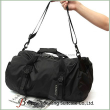 outdoor barrel purse carry on type foldable duffel bag travel hand luggage bag