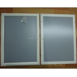 25mm mitred corner aluminum A4 snap frame white poster picture frame