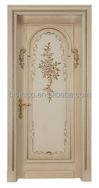 Exquisite Wood Carved Door Home Bedroom Entry Door Designs
