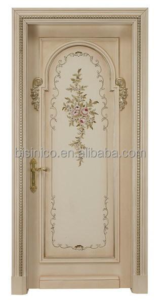 Exquisite wood carved door home bedroom entry designs
